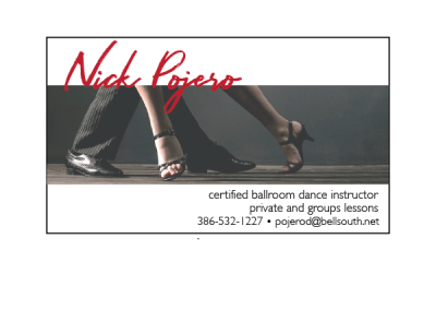 Nick Pojero Business Cards